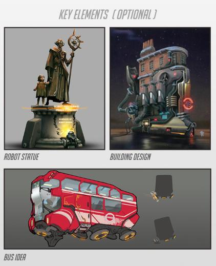 Kontes fan art Overwatch