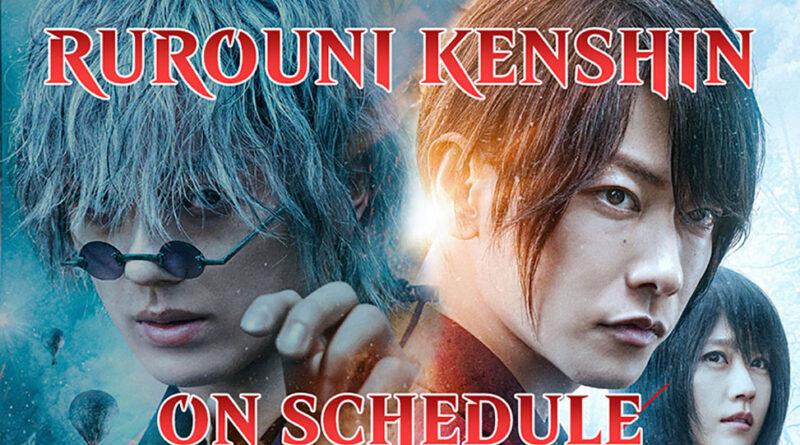 Rurouni Kenshin Final Movie Schedule
