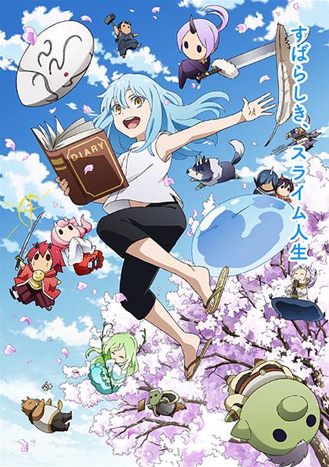 Tensura Nikki Promotional Poster