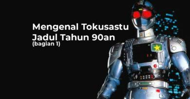 Tokusatsu Jadul Tahun 90an