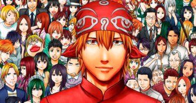 Cooking manga buku resep banner