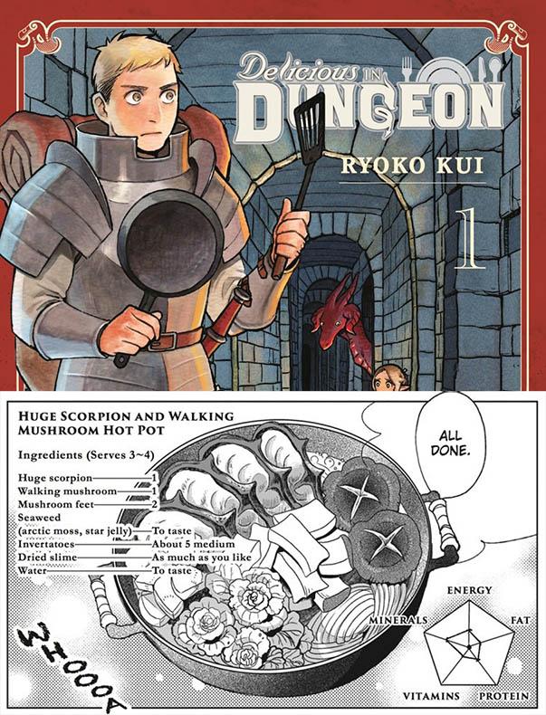 Cooking Manga Buku Resep Dungeon Meshi