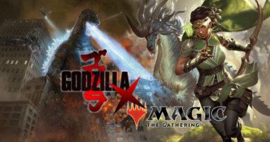 Kolaborasi Godzilla Magic the Gathering