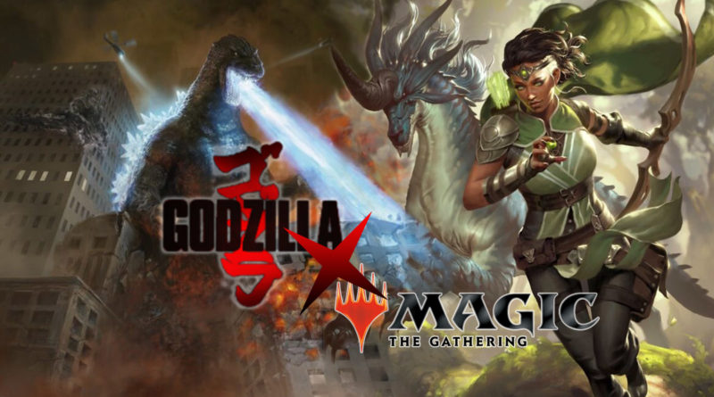 Kolaborasi Godzilla Magic the Gathering