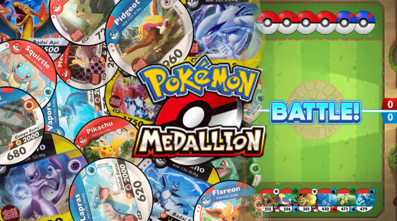 Pokemon Medallion