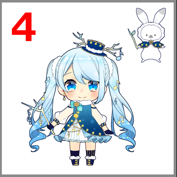 6 Finalis Desain Snow Miku 2021 diumumkan, Saatnya voting! - Otaku Mobileague