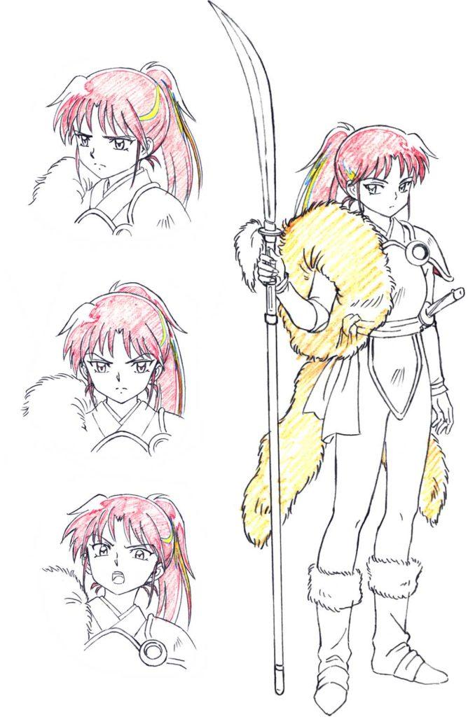 sekuel Inuyasha-Setsuna