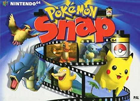 pokemon presents-pokemon snap