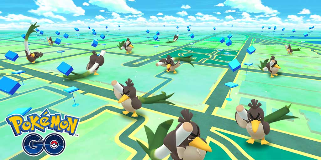 pokemon presents-pokemon go