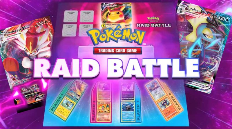 Pokemon TCG Raid Battle-banner