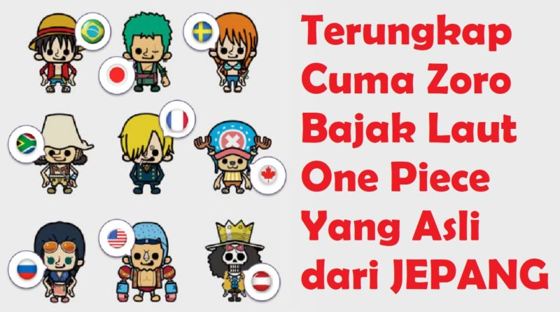 awak bajak laut one piece