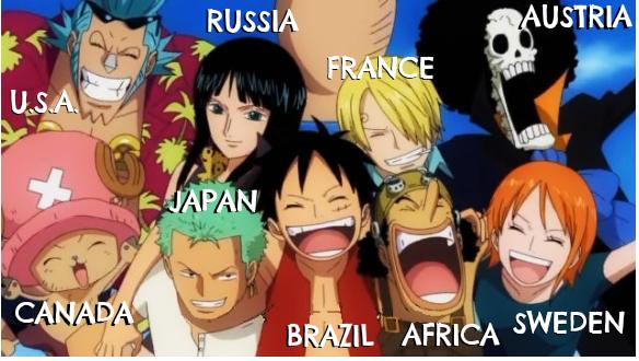 Kewarganegaraan Bajak Laut One Piece