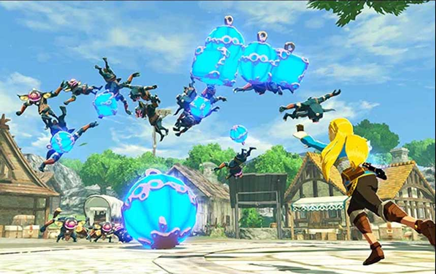 Detail Tambahan Gameplay Hyrule Warriors Age Of Calamity Di Tgs 2020 Hari Terakhir Otaku Mobileague