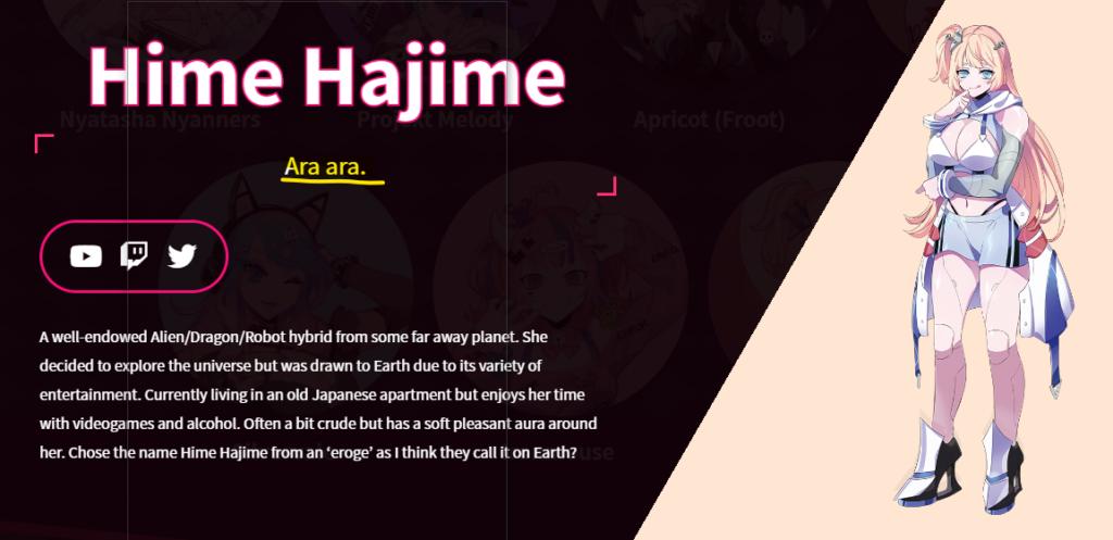 Vshojo Hime Hajime