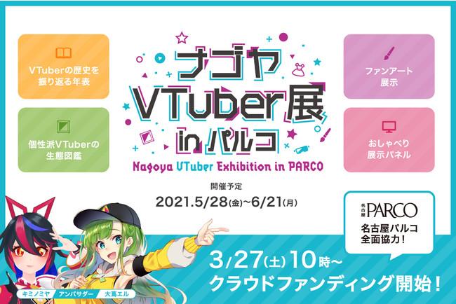 Banner Nagoya VTuber Exhibition